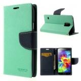 Pouzdro na mobil Sony Xperia Z3 Mercury Fancy zelené