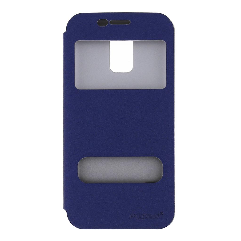 Flipové pouzdro na Samsung Galaxy S5mini modré Pudini s-view