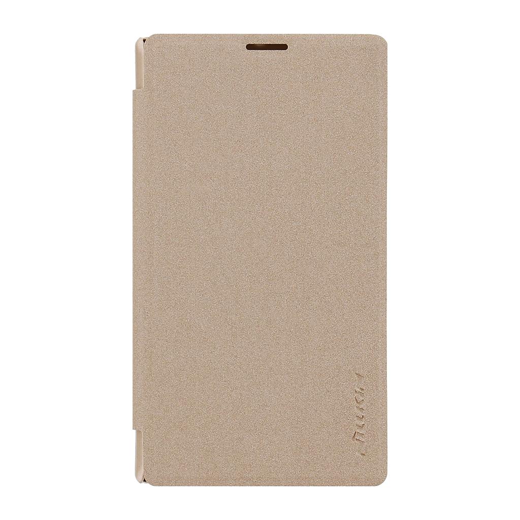 Pouzdro Nillkin Sparkle Folio na Nokia Lumia 435 zlaté