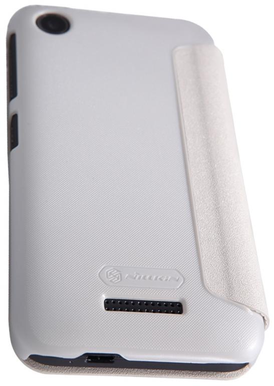 Pouzdro Nillkin Sparkle Folio na Sony Xperia Z3+ (E6553) bílé