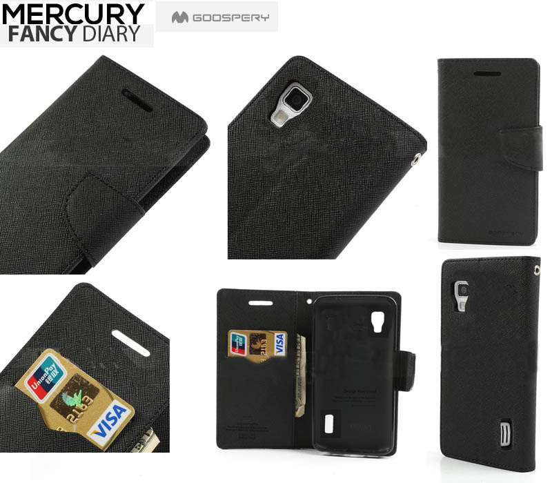 Pouzdro na Samsung Galaxy S3mini Mercury Fancy černé