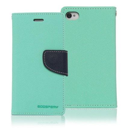 Pouzdro na mobil iPhone 5S Mercury Fancy mátovo-modré