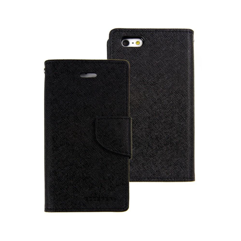 Pouzdro na mobil iPhone 5S Mercury Fancy černé