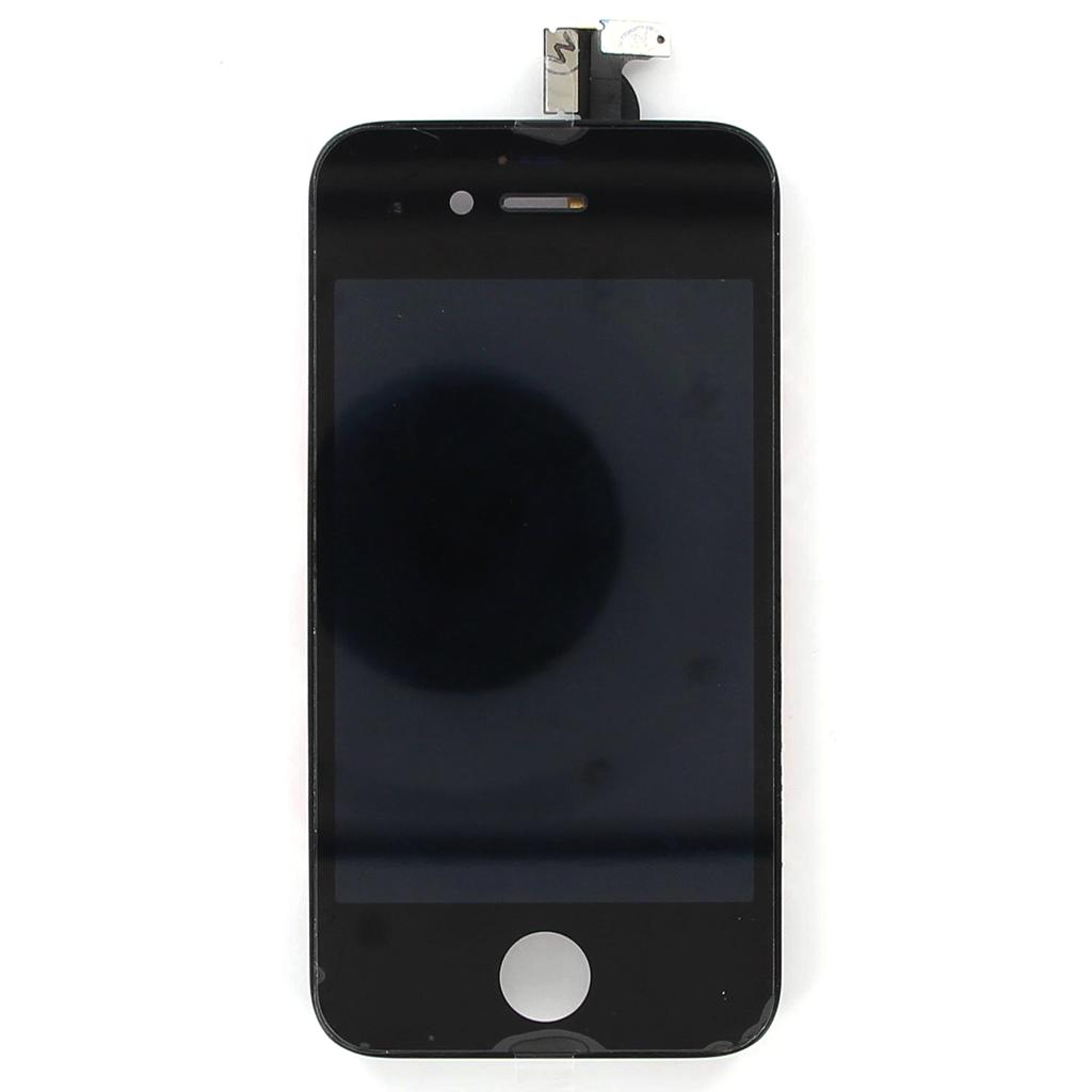 Dotykové sklo a LCD display pro Apple iPhone 4S Black OEM