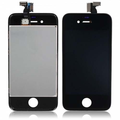 Dotykové sklo a LCD display pro Apple iPhone 4S Black originální