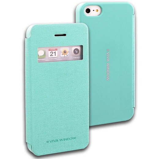Pouzdro na mobil iPhone 4S Mercury Viva zelené