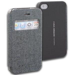 Pouzdro na mobil iPhone 4S Mercury Viva šedá
