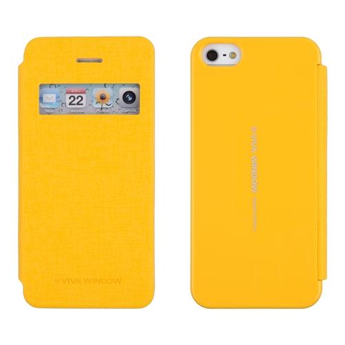 Pouzdro na mobil iPhone 4S Mercury Viva žluté