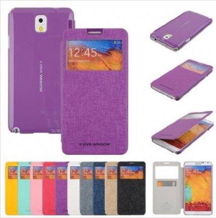 Pouzdro na Samsung Galaxy Note4 Mercury Viva fialové