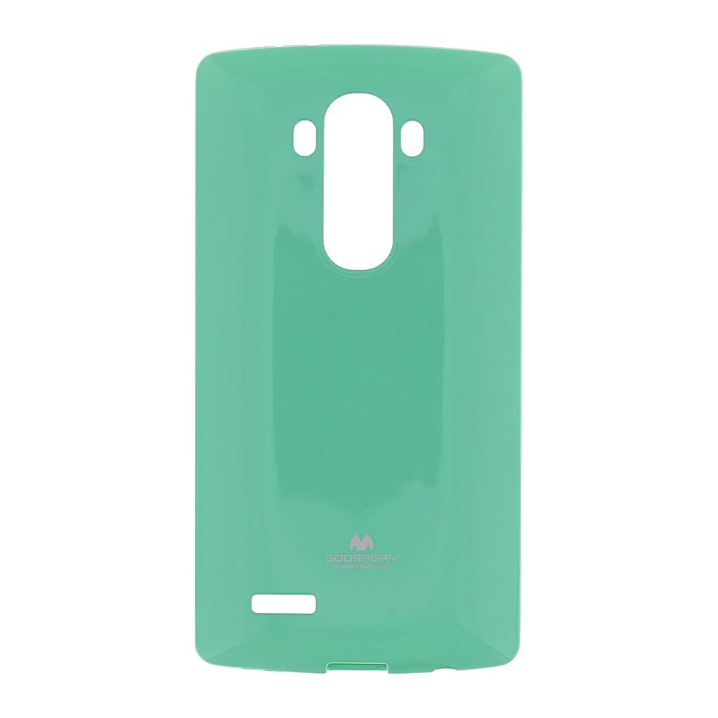 Silikonové pouzdro na LG G4 (H815) Mercury Jelly zelené