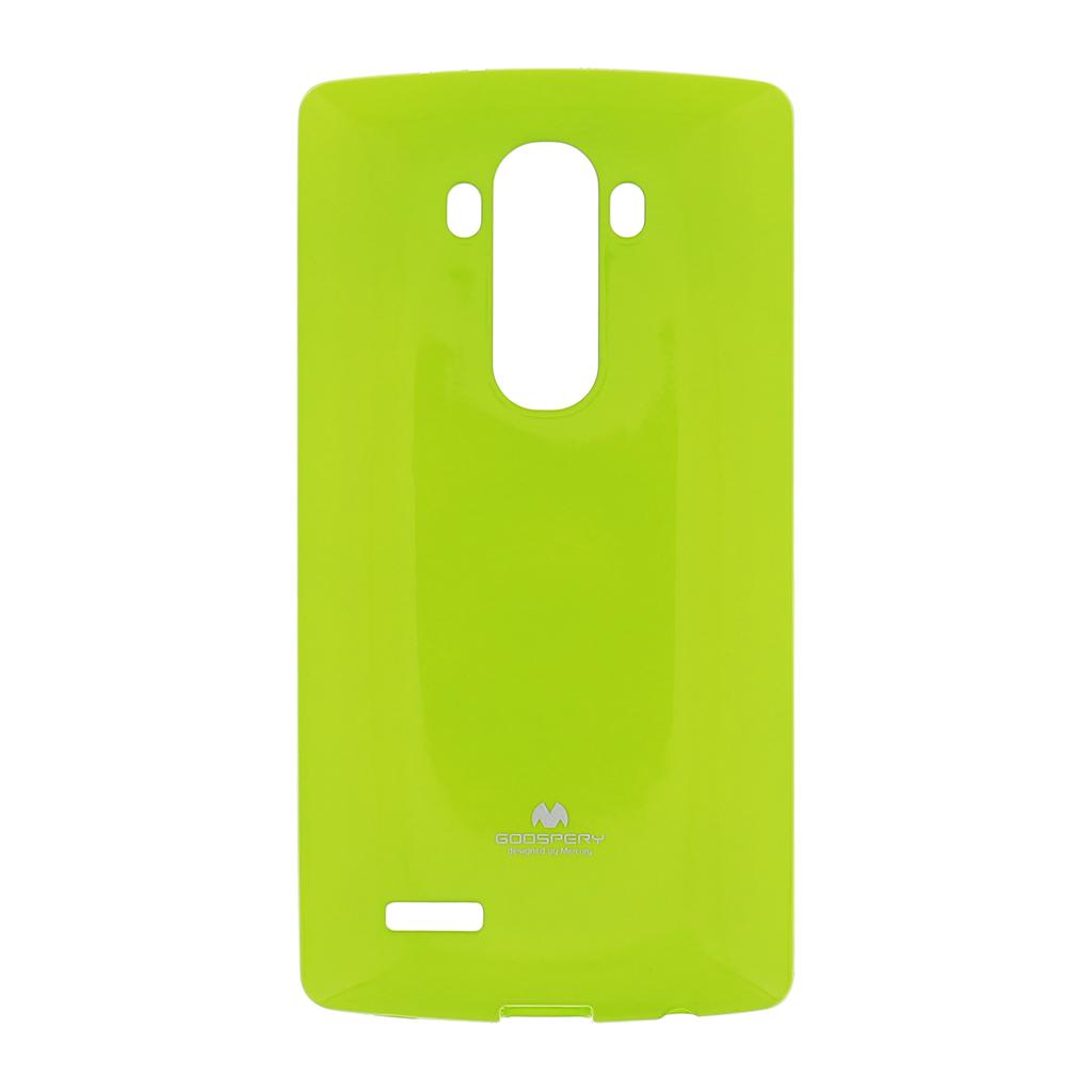 Silikonové pouzdro na LG G4 (H815) Mercury Jelly Limetka