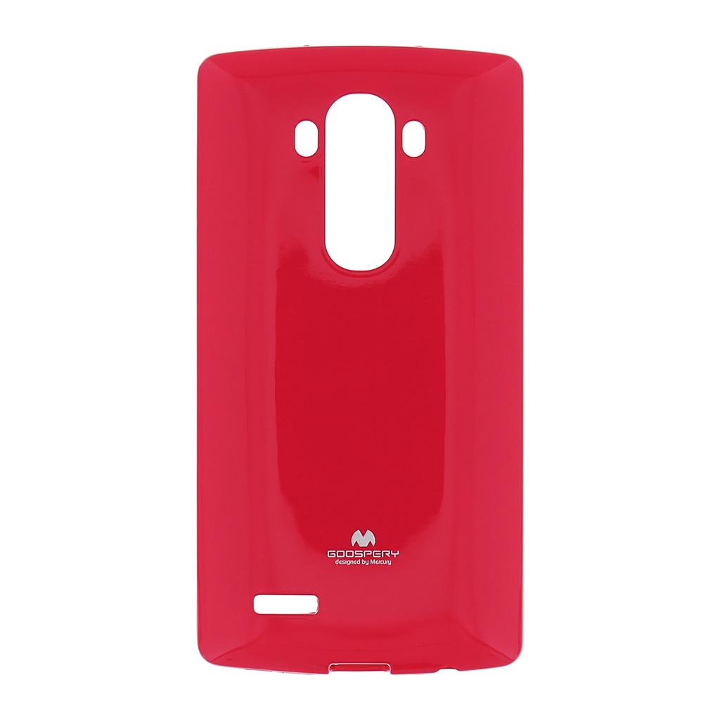 Silikonové pouzdro na LG G4 (H815) Mercury Jelly tmavě růžové