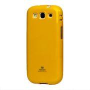 Pouzdro na Samsung Galaxy S3 Mercury Jelly žluté