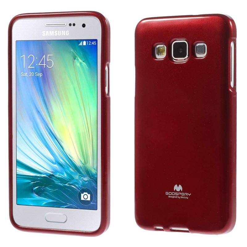 Pouzdro na Samsung Galaxy A5 Mercury Jelly červené