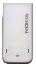 Zadní kryt pro Nokia 5310, white/silver - VÝPRODEJ!!