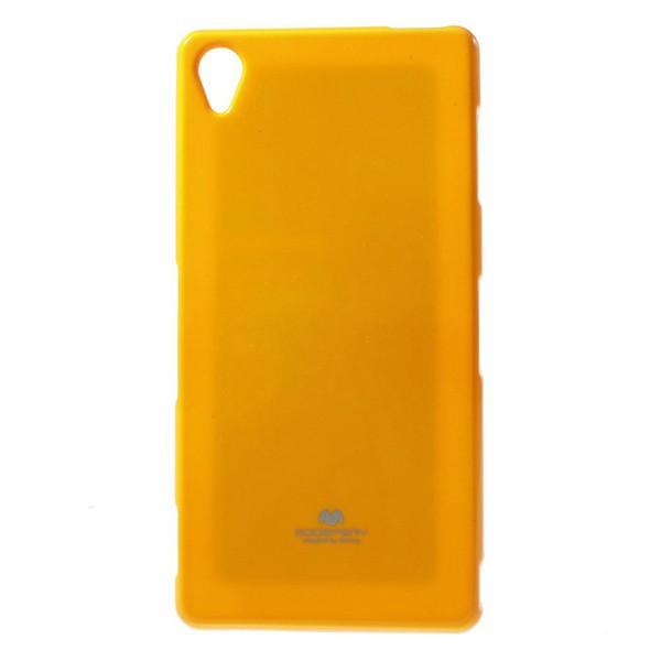 Silikonové pouzdro na Sony Xperia Z3 Mercury Jelly žluté