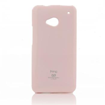 Silikonové pouzdro na HTC ONE M9 Mercury Jelly světle růžové