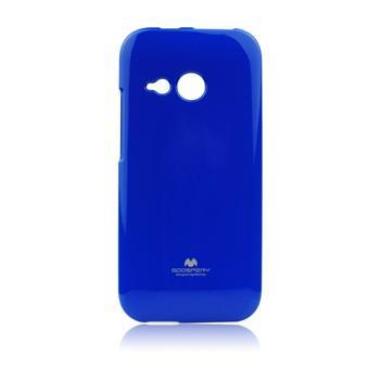 Silikonové pouzdro na HTC ONE M8 Mercury Jelly modré