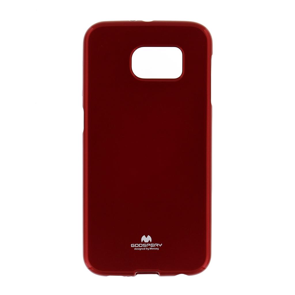 Silikonové pouzdro na HTC ONE M8 Mercury Jelly červené