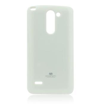 Silikonové pouzdro na LG L90 (D405) Mercury Jelly bílé