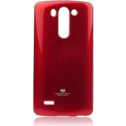 Silikonové pouzdro na LG L Bello Mercury Jelly červené