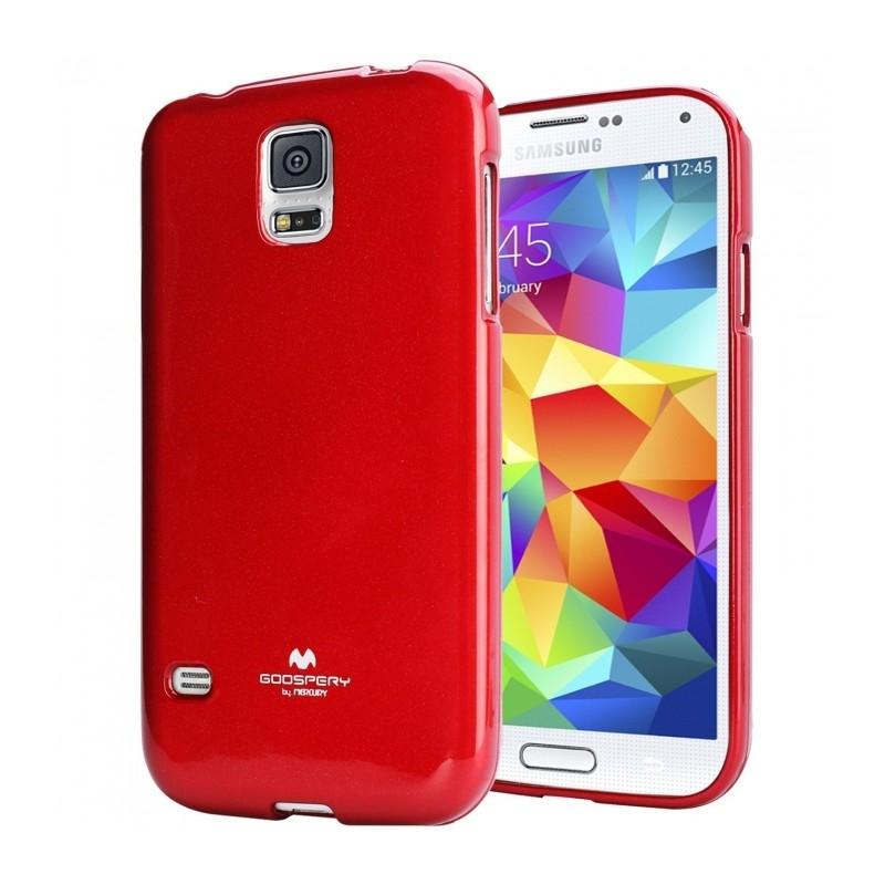 Silikonové pouzdro na LG L Fino Mercury Jelly červené