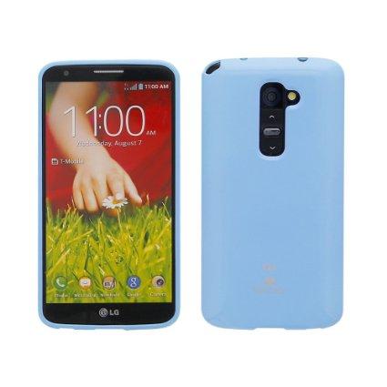 Silikonové pouzdro na LG L70 Mercury Jelly světle modré