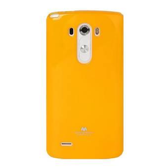Silikonové pouzdro na LG L70 Mercury Jelly žluté