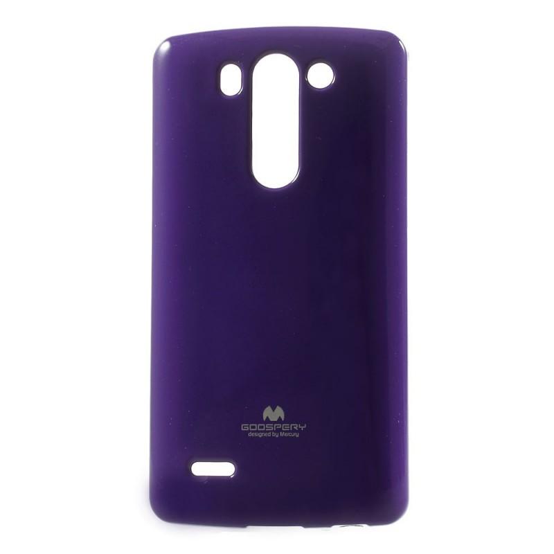 Silikonové pouzdro na LG G3s (D722) Mercury Jelly fialové