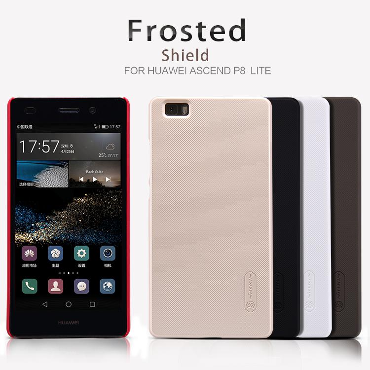 Zadní kryt pro Huawei Ascend P8 Lite, Nillkin Super Frosted černý