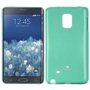 Pouzdro na Samsung Galaxy Note4 Edge Mercury Jelly zelené