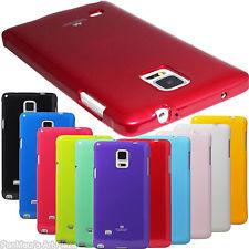 Pouzdro na Samsung Galaxy Note4 Edge Mercury Jelly červené