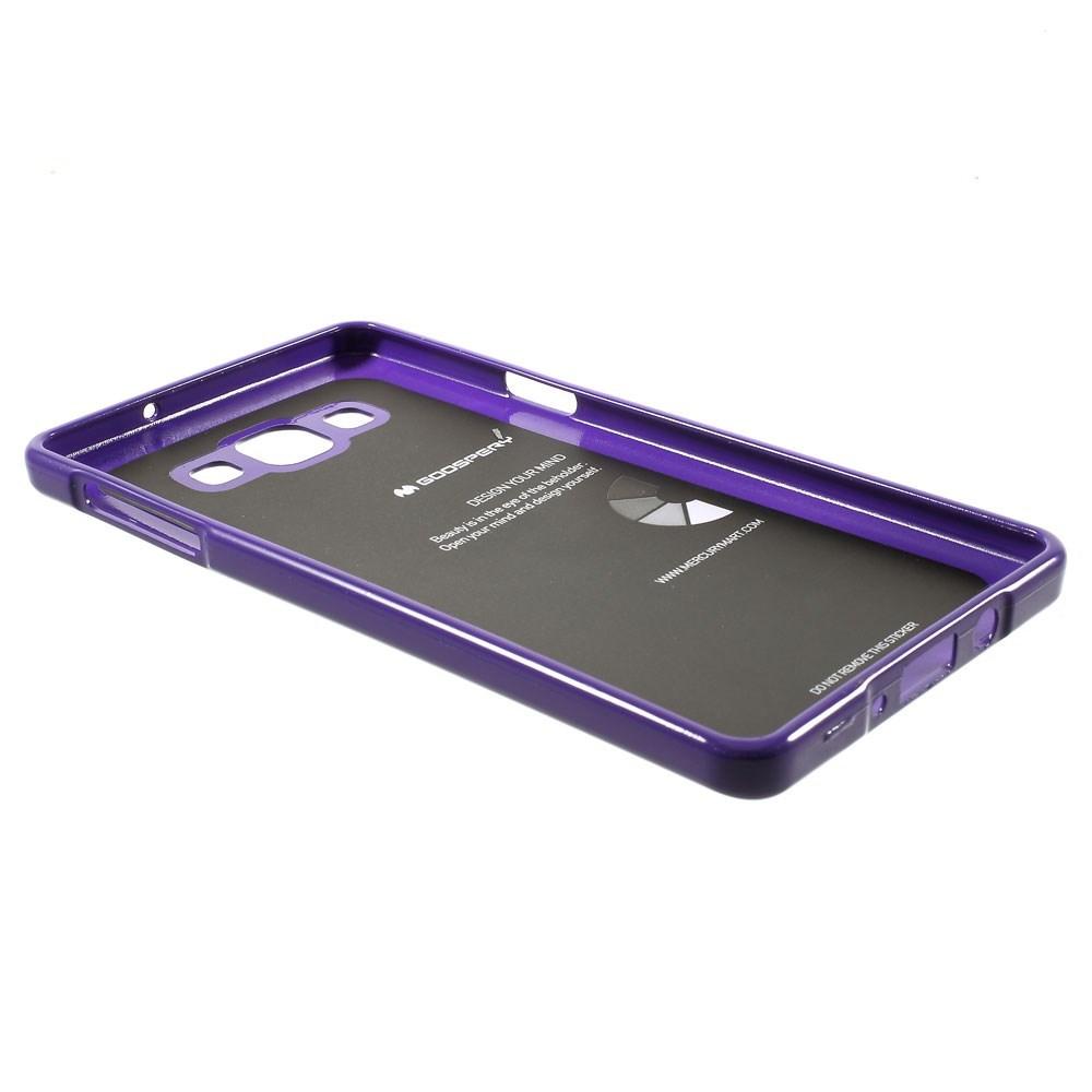 Pouzdro na Samsung Galaxy A7 (A700) Mercury Jelly fialové