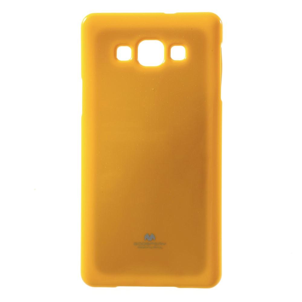 Pouzdro na Samsung Galaxy A7 (A700 ) Mercury Jelly žluté