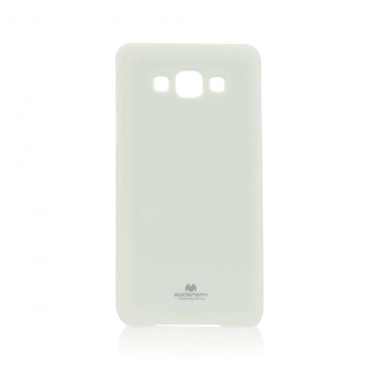 Pouzdro na Samsung Galaxy A7 (A700) Mercury Jelly bílé