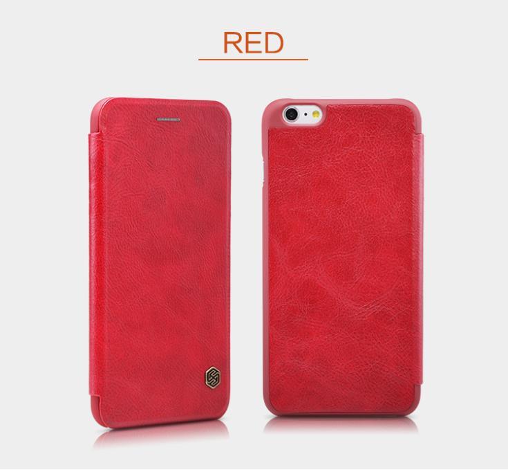 "Pouzdro Nillkin Qin Book na iPhone 6 4,7"" červené"