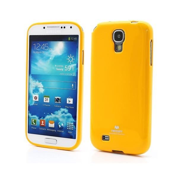 Pouzdro na Samsung Galaxy Alpha Mercury Jelly žluté
