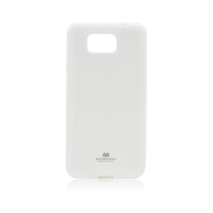 Pouzdro na Samsung Galaxy Alpha Mercury Jelly bílé