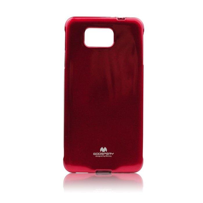 Pouzdro na Samsung Galaxy Alpha Mercury Jelly červené