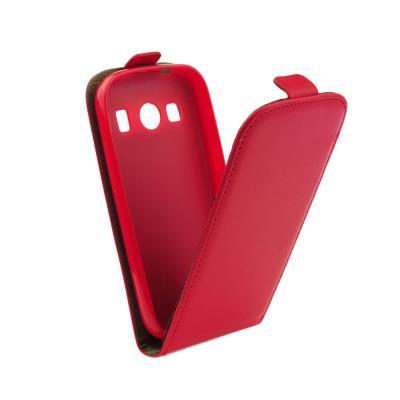 Pouzdro flip Microsoft Lumia 535 ForCell Slim Flexi Fresh červené