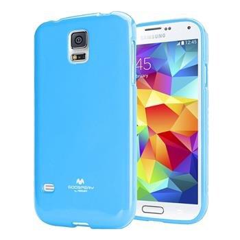 Pouzdro na Samsung Galaxy S5 (G900) Mercury Jelly modré