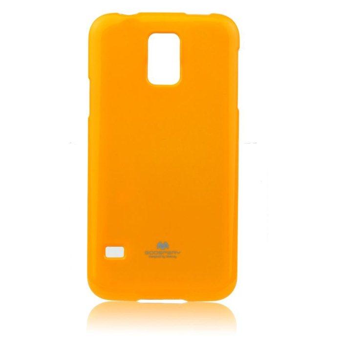Pouzdro na Samsung Galaxy S5 (G900) Mercury Jelly žluté