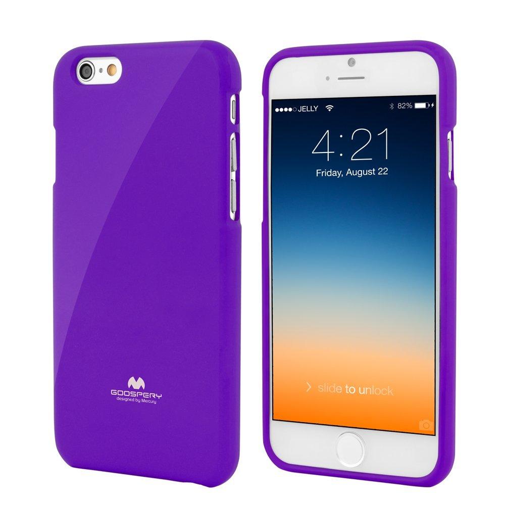 Silikonové pouzdro na iPhone 6, 4.7 Mercury Jelly fialové