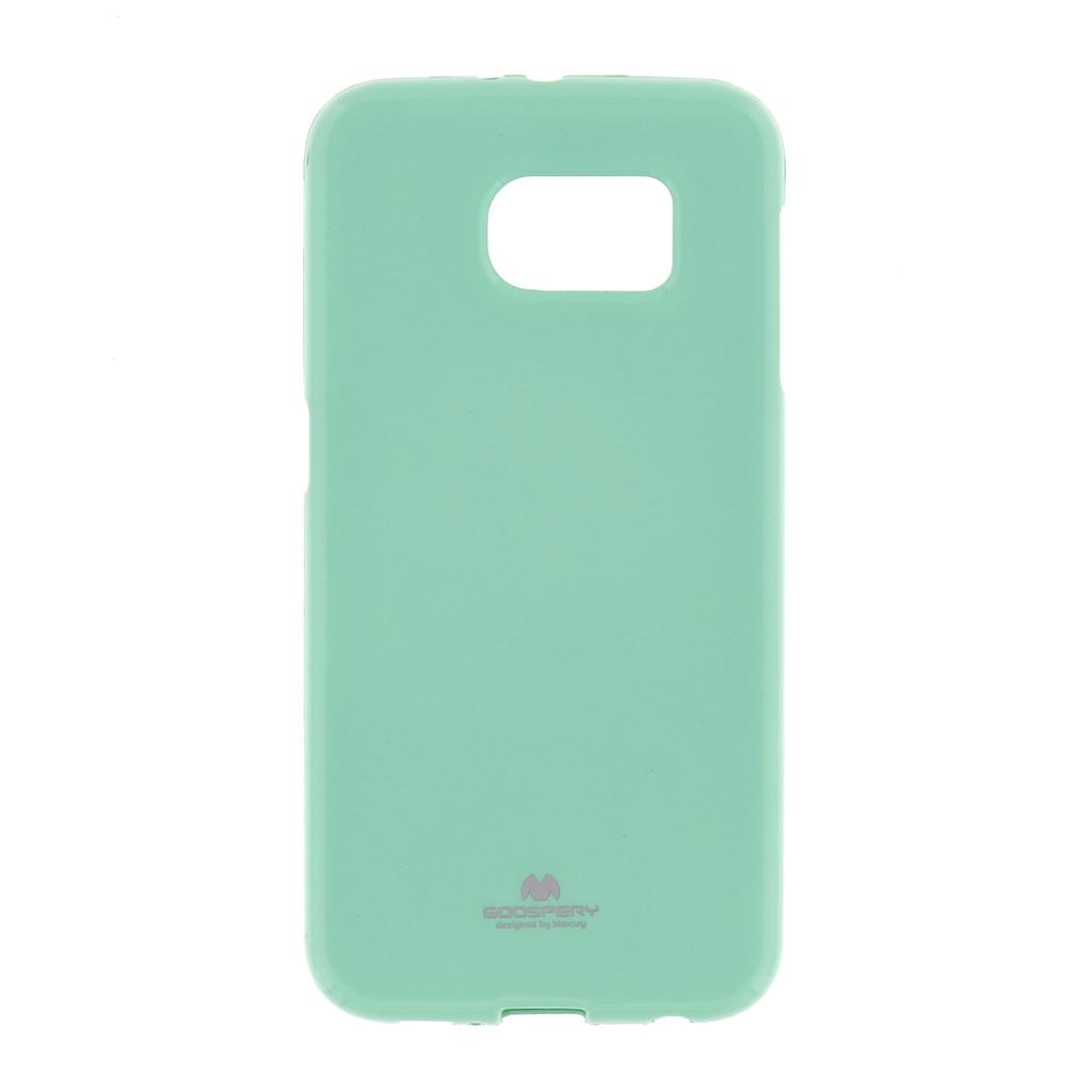 Silikonové pouzdro na iPhone 5S Mercury Jelly zelené