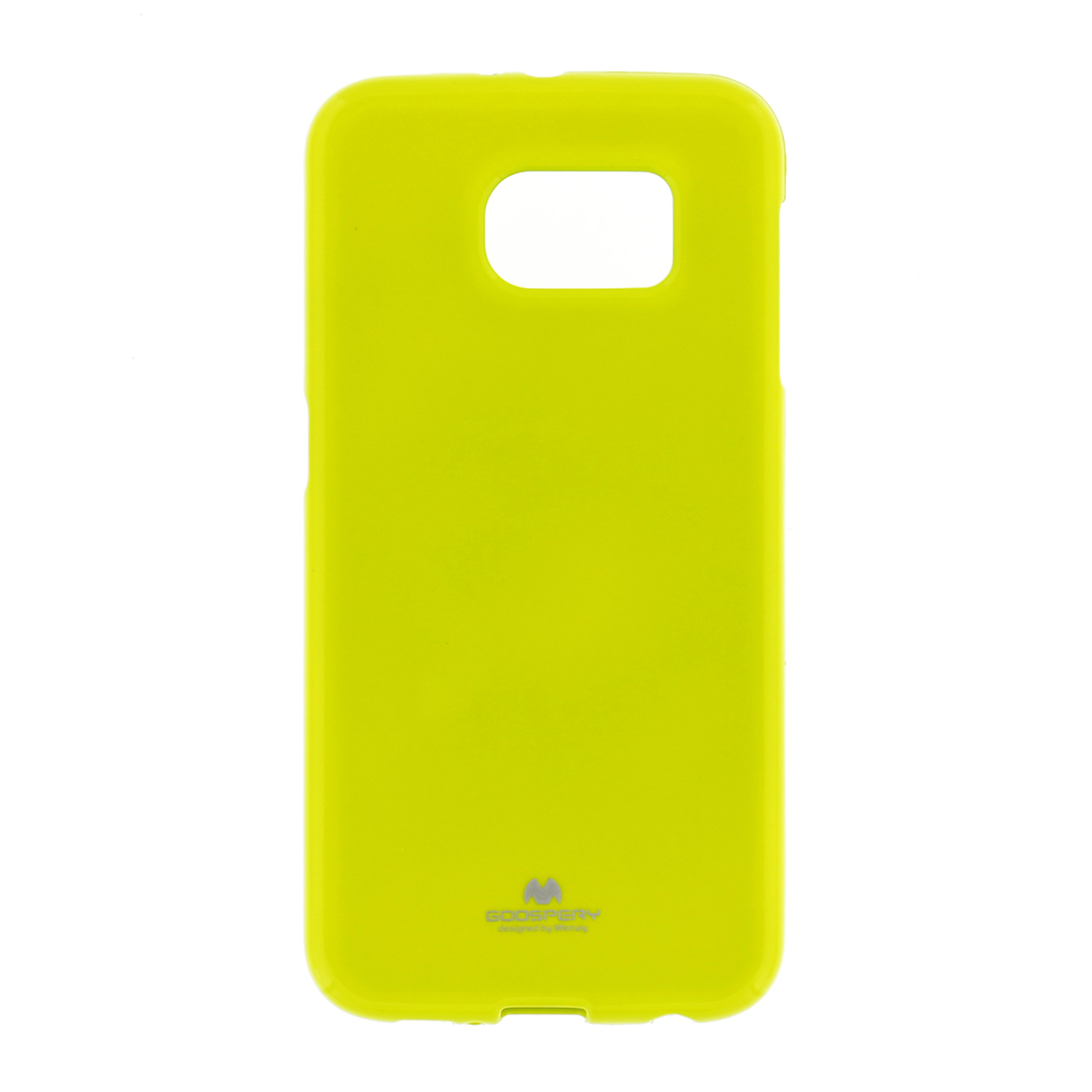 Silikonové pouzdro na iPhone 5S Mercury Jelly limetka
