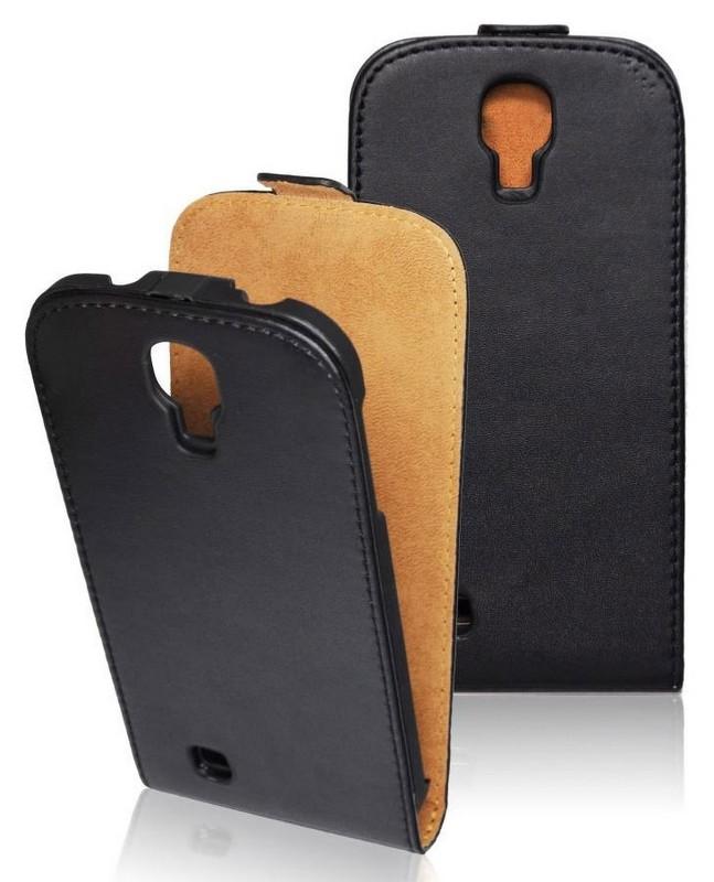 Pouzdro flip na Samsung Galaxy Trend Plus/S Duos 2 ForCell Slim2 černé