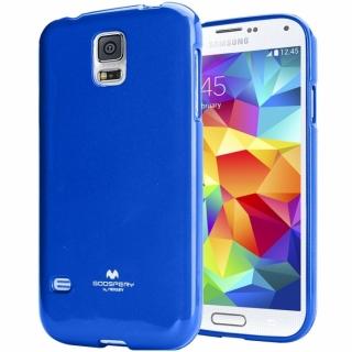 Pouzdro na Samsung Galaxy S6 Edge Mercury Jelly modré