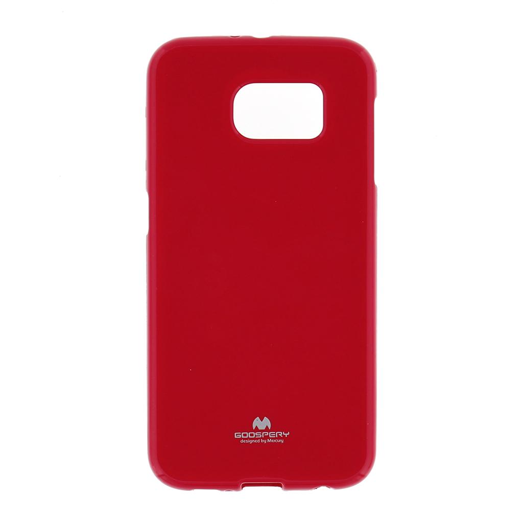 Pouzdro na Samsung Galaxy S6 (G920) Mercury Jelly tmavě růžové