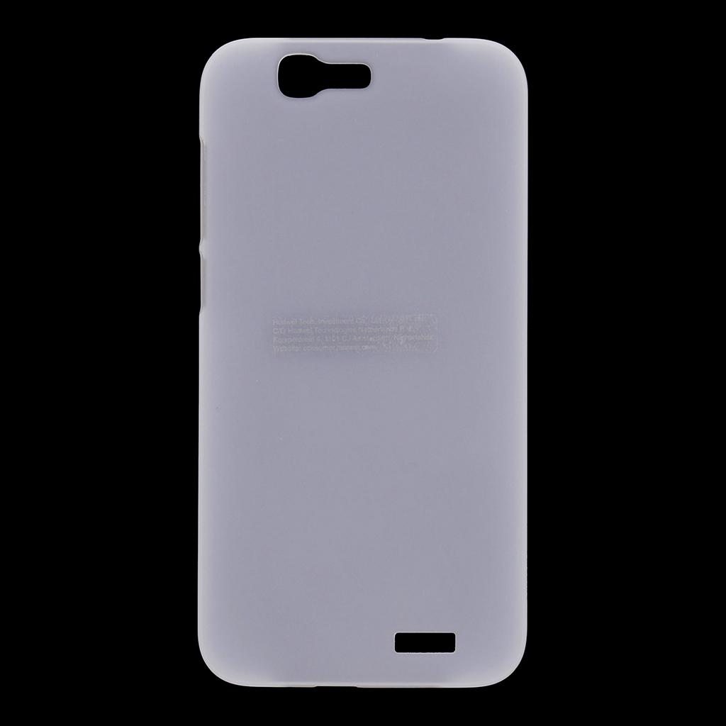 Pouzdro Huawei Original Protective 0.8mm Ascend G7 bílé