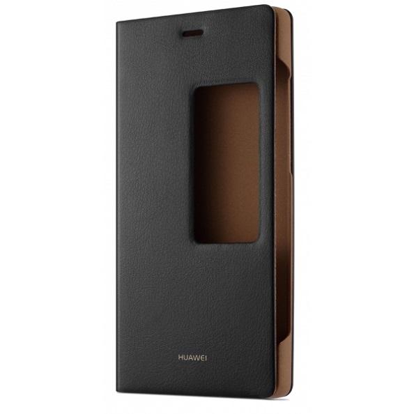 Originální pouzdro Huawei S-View na P8 černé
